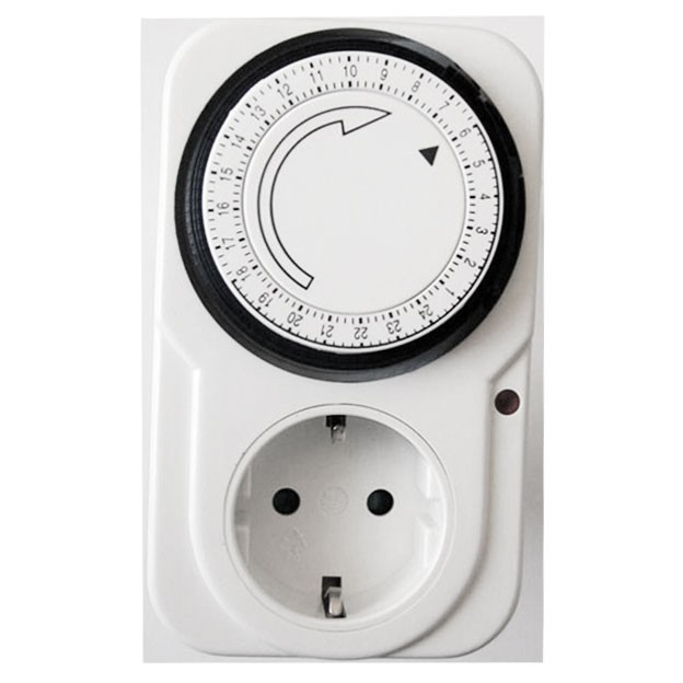 Priza programabila mecanica TIMER-01-W