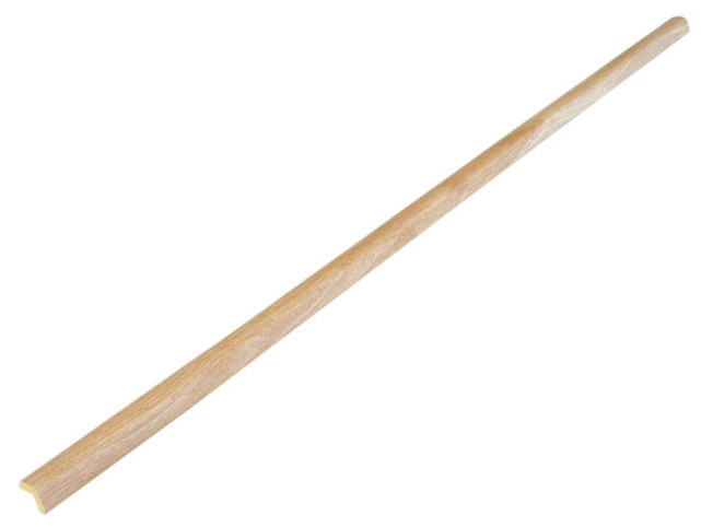 Protectie colt din spuma de cauciuc AC-119, foarte subtire, lemn deschis, 90 cm, grosime 4 mm