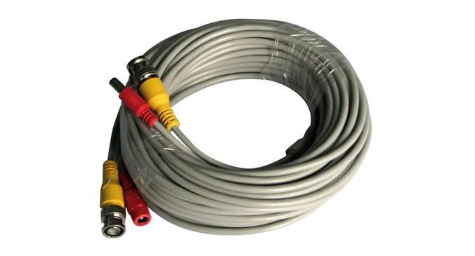 Cablu video / alimentare camere PNI-ACCTV50M, 50 m, cupru