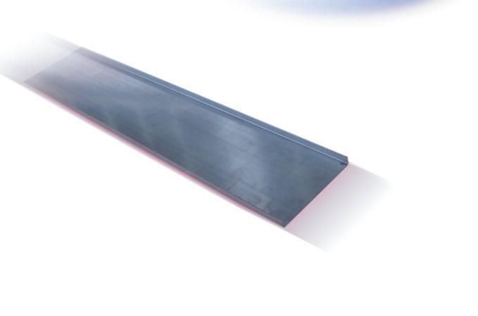 Capac jgheab 12-010, otel galvanizat, 50 x 15 x 0.75 mm