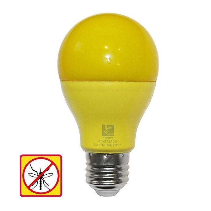 Bec LED Adeleq Lumen 06-728/G clasic E27 10W lumina galbena, antiinsecte
