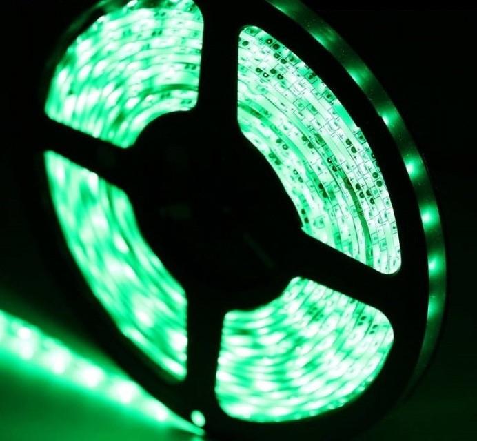Banda autocolanta verde IP20 12V 05-001
