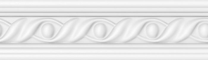 Bagheta polistiren decorativa VTM M11 08 NW clasic alb 200 x 4.5 x 0.5 cm