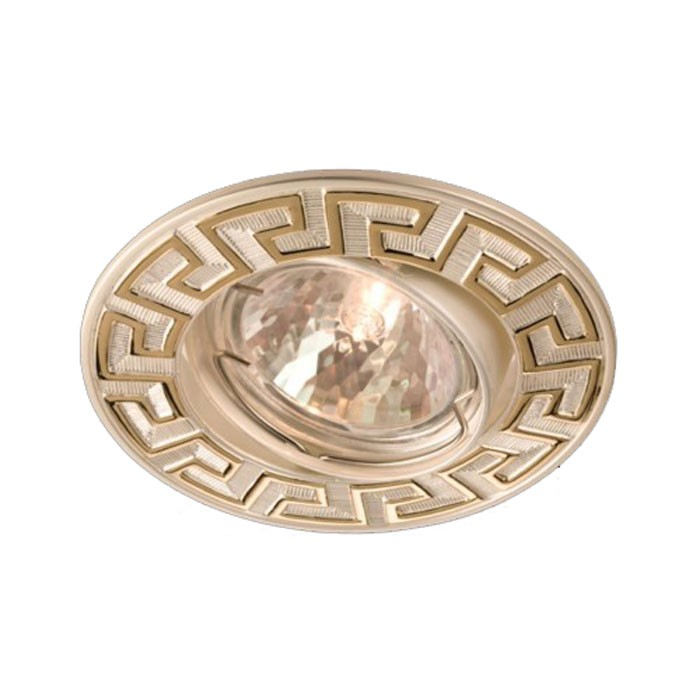 Spot incastrat ELC 329 70097, GU5.3, auriu/perla argint