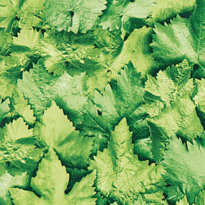 Autocolant decorativ Gekkofix Leaves 10195, verde, 0.45 x 15 m