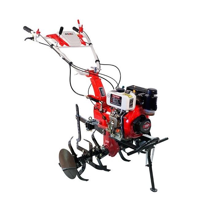 Motocultor pe motorina Pro Series 1000 D, 5 CP, 3 viteze + roti cauciuc