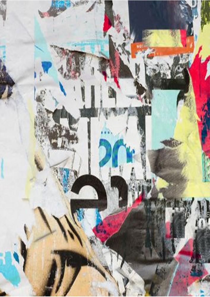 Biblioteca living Urban, pastel + print 26, 260 cm, 5C