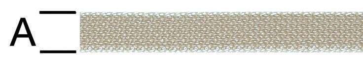 Chinga polipropilena, bej, 15 mm