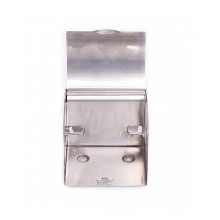 Dispenser hartie igienica, Limpio TD10W3, cromat, 12.6 x 11.6 x 11.5 cm