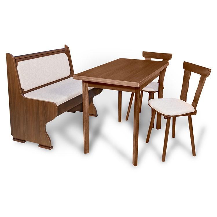 Dedeman bancheta bucatarie adela cu 2 scaune masa cu for Masa cu scaune dedeman