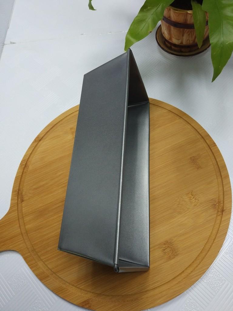 Tava dreptunghiulara pentru copt, otel carbon, anti-aderenta, gri, 26 x 11.5 x 7.5 cm
