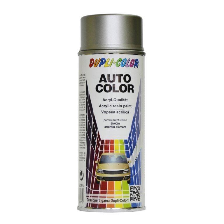 Spray vopsea auto, Dupli - Color, argintiu diamant, interior / exterior, 350 ml