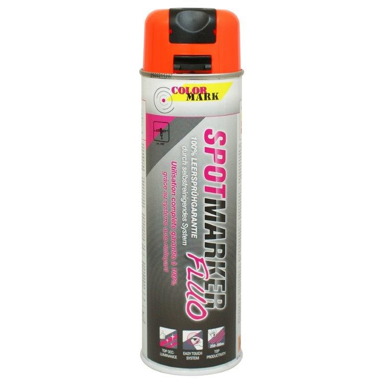 Spray marcaj spot Dupli-Color MK Flour portocaliu 500 ml