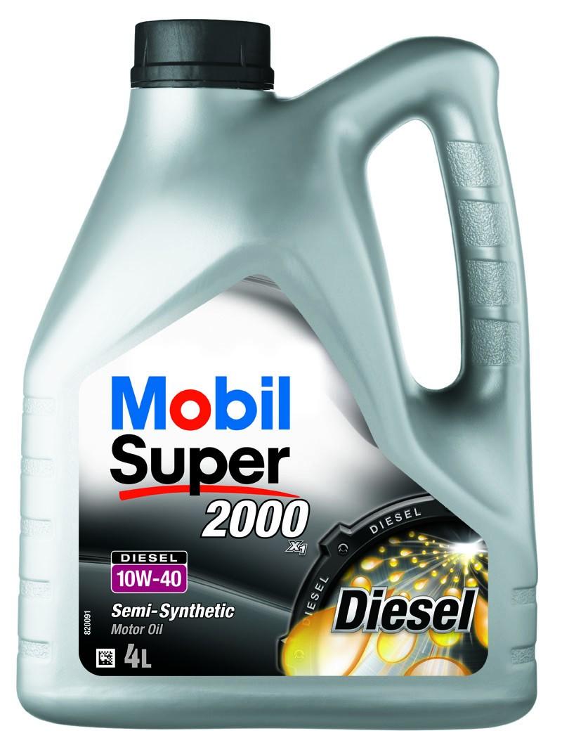 Ulei Mobil Super diesel 2000 X1 10W-40 4l