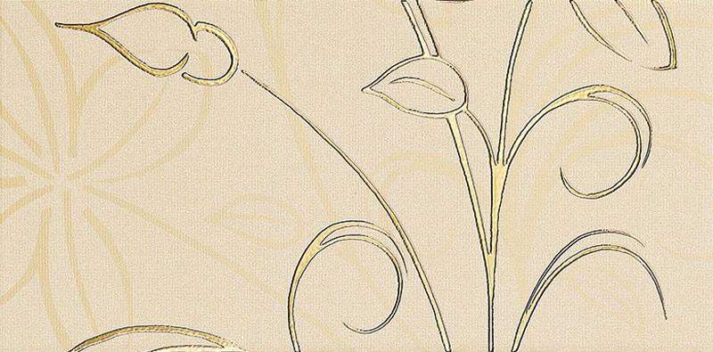 Decor faianta baie / bucatarie Bolonia mat crem 20 x 40 cm