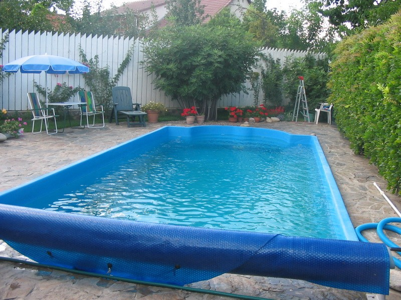 Dedeman piscina romana clasic sistem complet piscine for Piscine ingropate