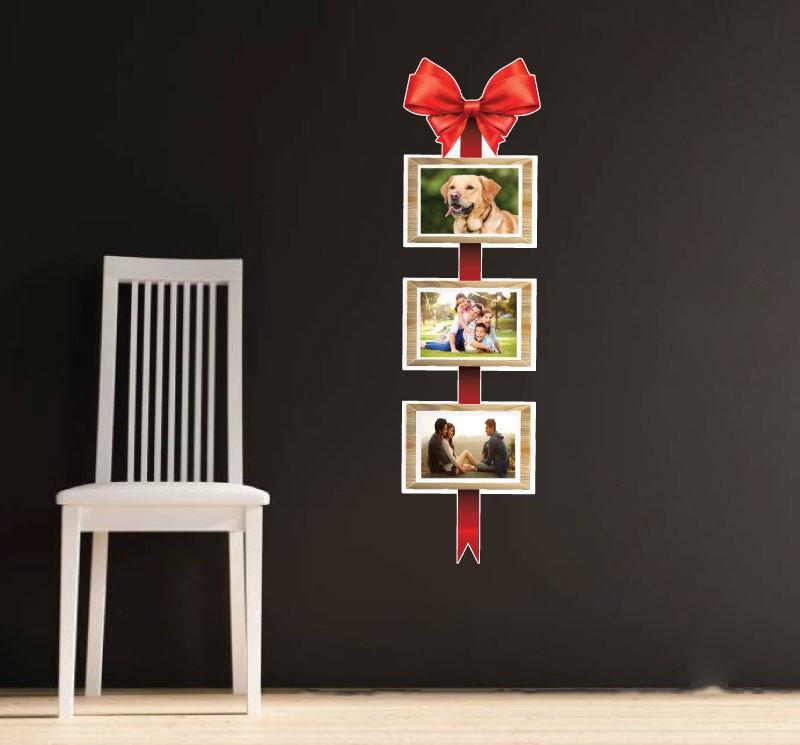 Sticker decorativ perete, living, Fundita cu poze, PT1486, 25 x 85 cm