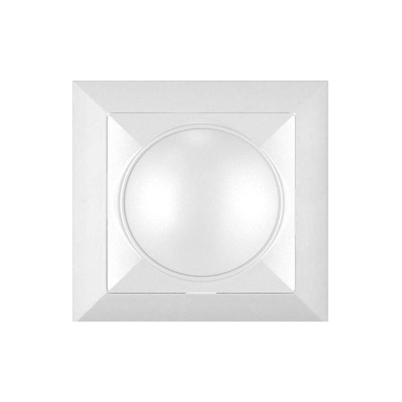 Variator de tensiune Abex Perla SO-1P, alb, 400W, rama inclusa
