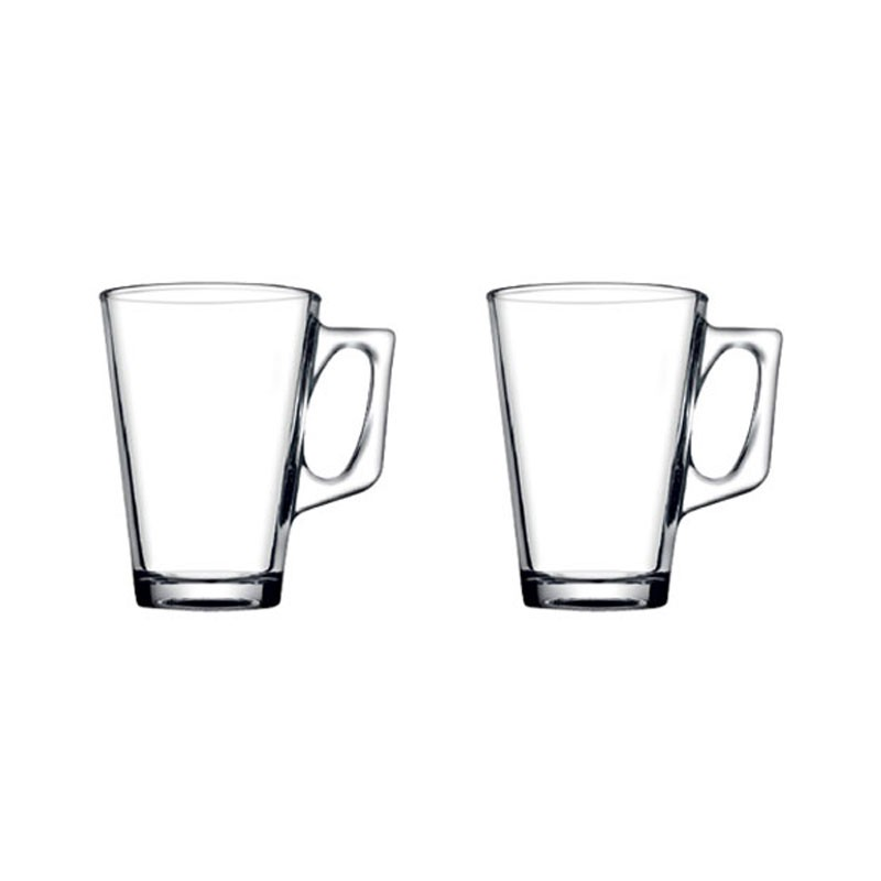 Cana Vela 55201, set 2 bucati, sticla, 250 ml