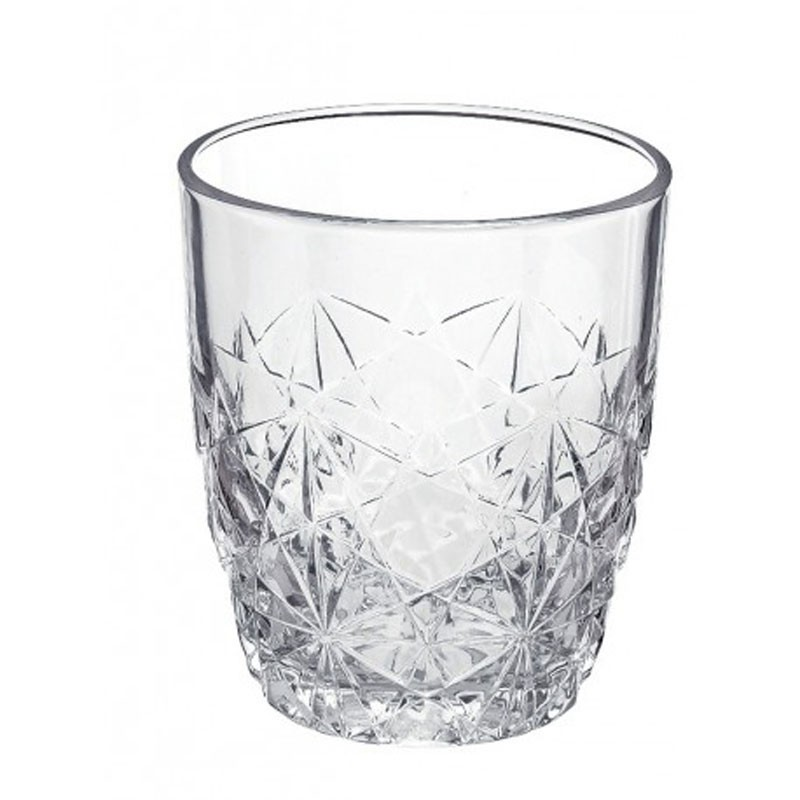 Pahar whisky, Dedalo, din sticla, 260 ml, set 6 pahare