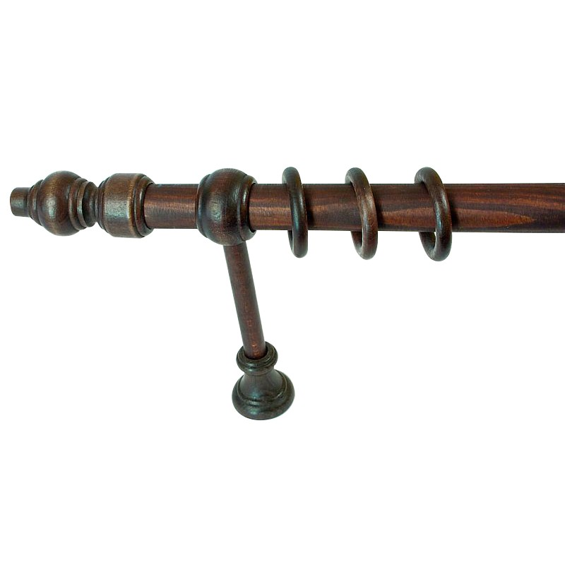Galerie lemn wenge 300 cm