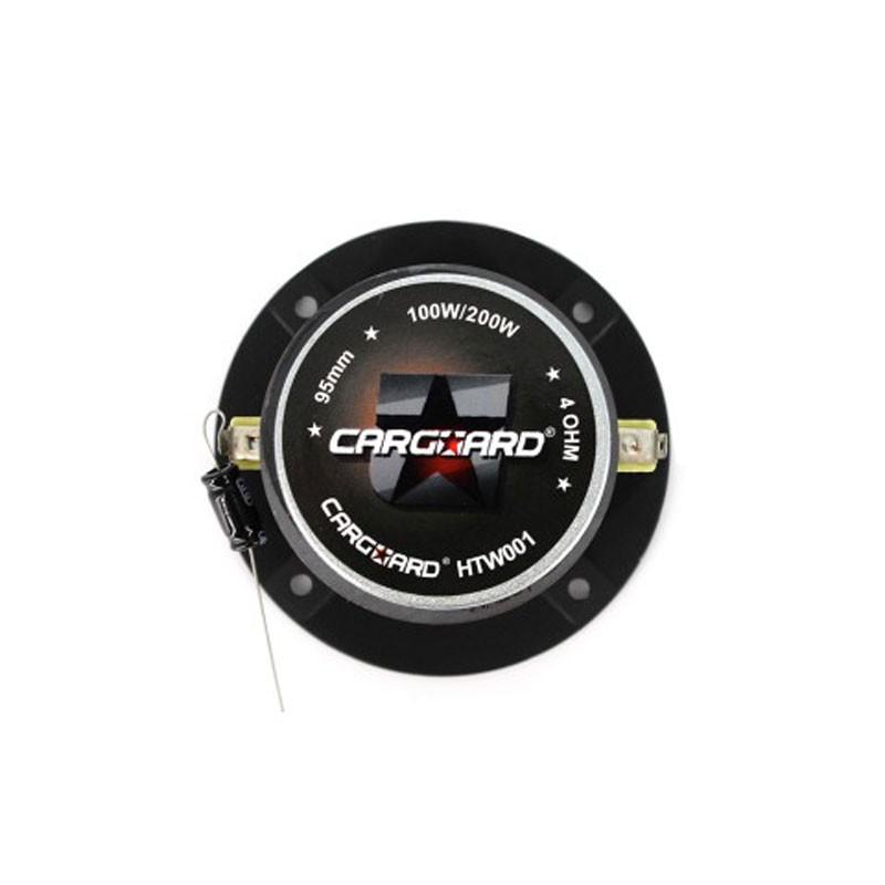 Difuzor boxe auto Carguard Dome HTW001, diametru 3.8 cm, 100 / 200 W, 4 ohmi