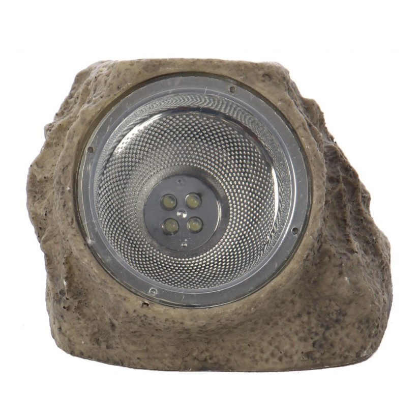 Lampa solara LED Hoff, forma piatra, 12.5 cm