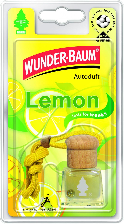 Odorizant auto, sticluta, Wunder - Baum, Lamaie, 9 x 2.5 x 6.6 cm