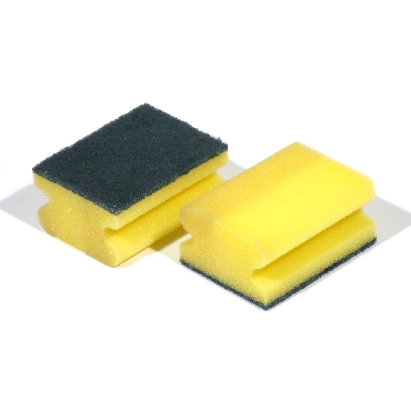 Bureti pentru bucatarie cu canelura, Perind 0928, galben, set 2 bucati