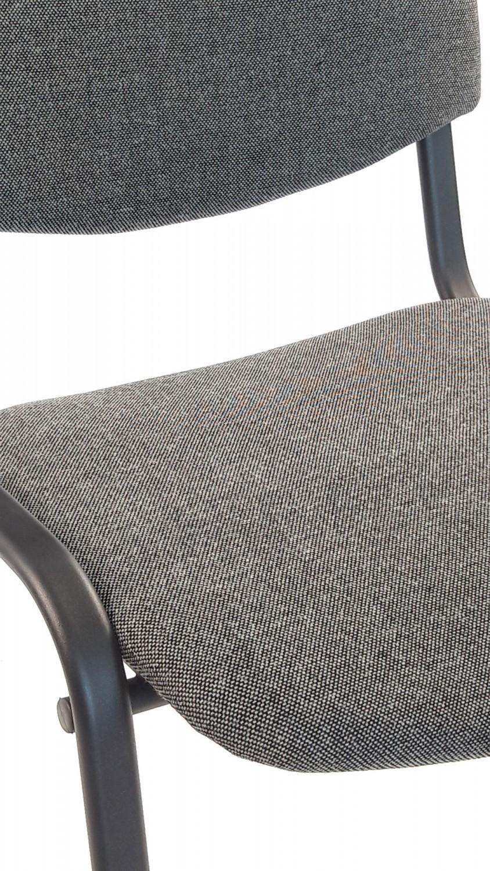 Scaun vizitator Felicia C73 stofa negru+gri