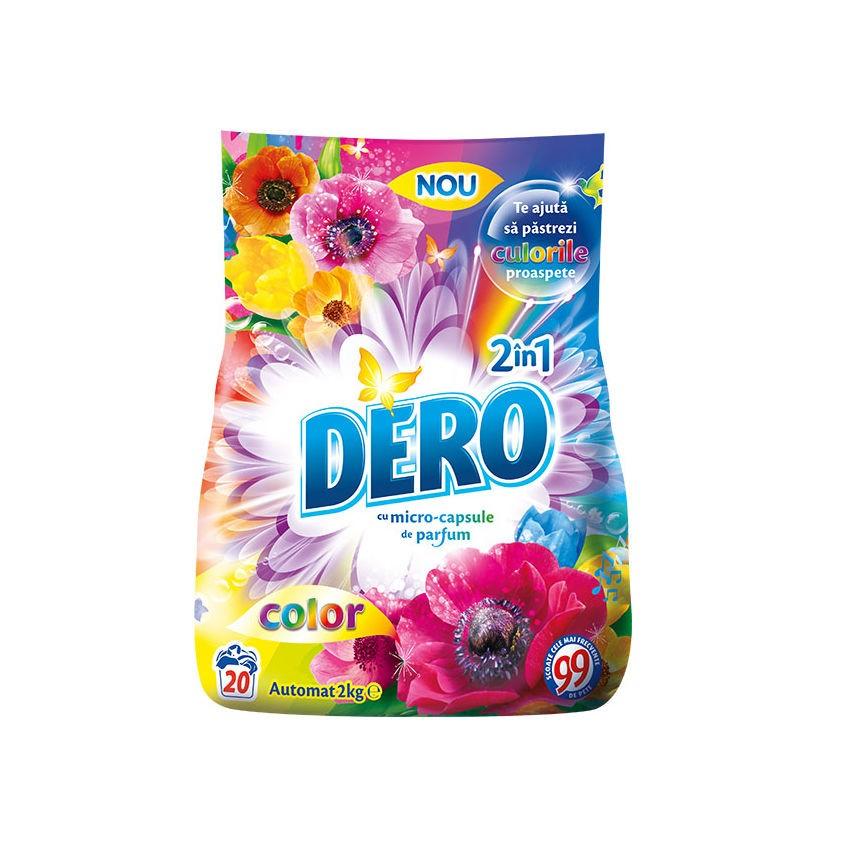 Detergent rufe, automat, Dero 2 in 1 color, 2 kg