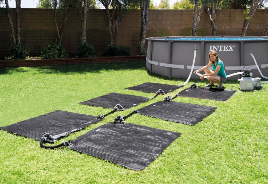 Sistem incalzire apa piscina Intex 28685, solar, 1 x 1 m