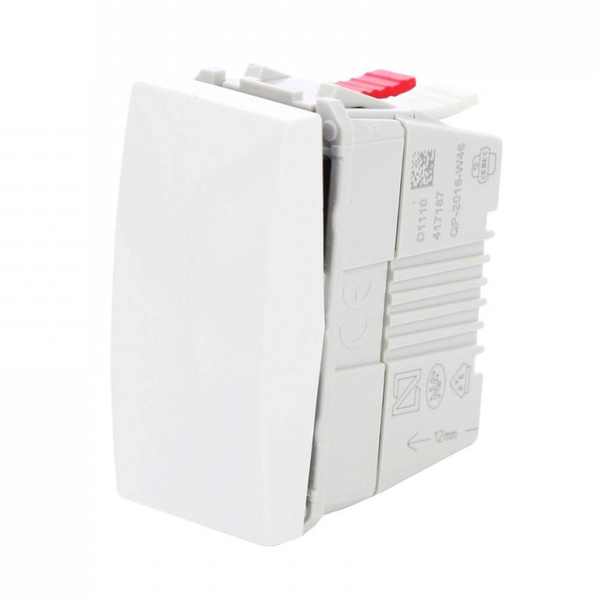 Intrerupator simplu Schneider Electric Unica MGU3.101.18, incastrat, modular, alb