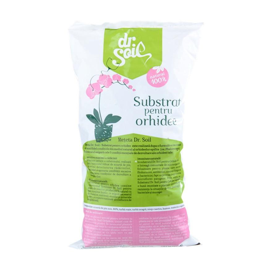 Substrat pentru orhidee Dr. Soil 1 l