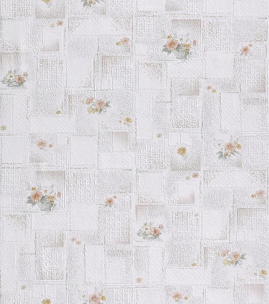 Tapet hartie, model floral, Rasch Unsere besten 861006 10.05 x 0.53 m