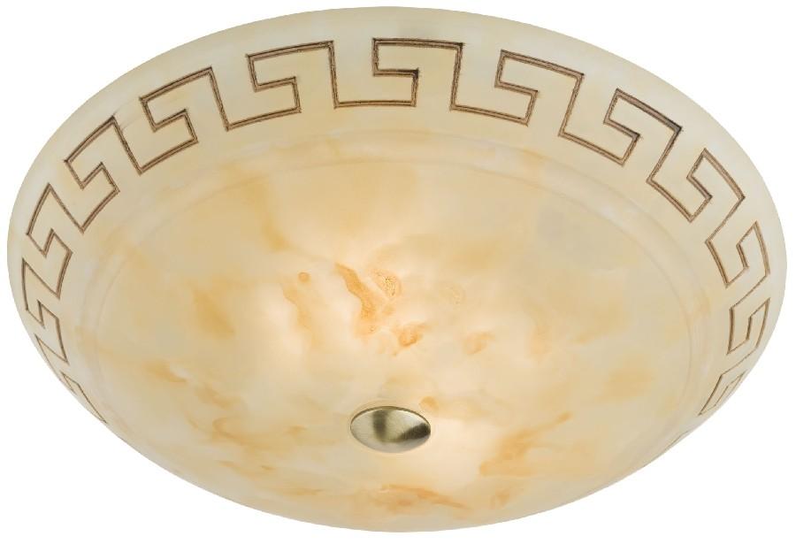 Plafoniera Greca 05-194, 2 x E27, maro