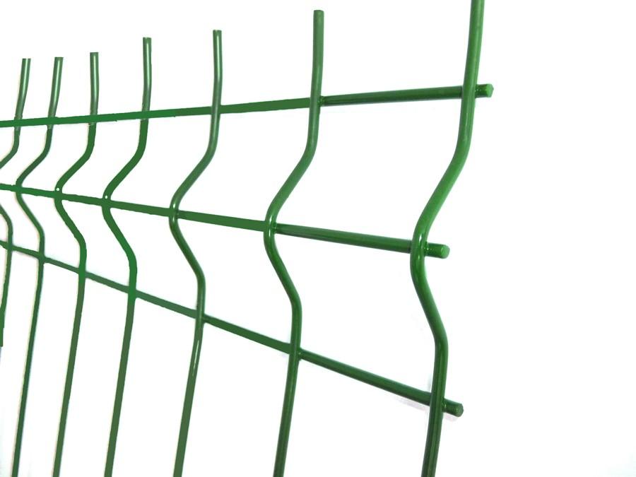 Panou gard zincat bordurat verde 600 x 2000 mm
