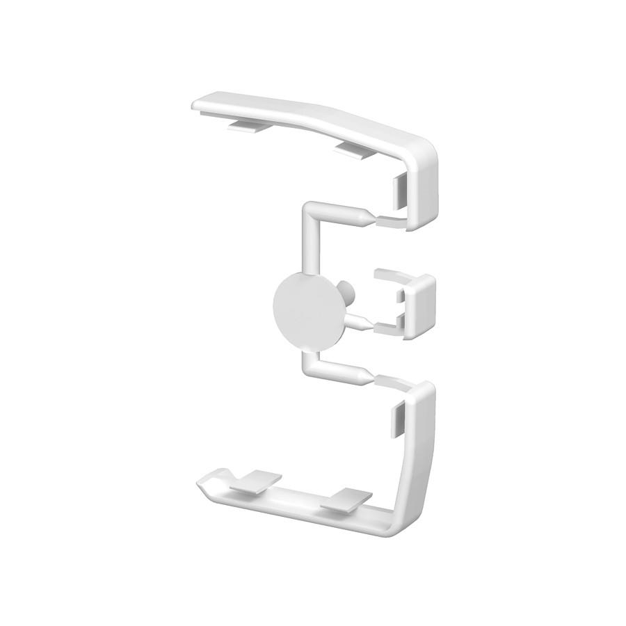 Element legatura rapid 45 6116150, alb
