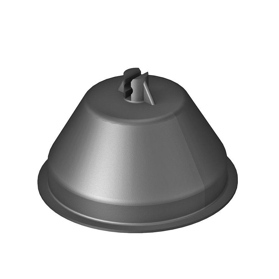 Suport conductor pe acoperis pentru umplere cu beton 85 x 140 mm FT 5218861