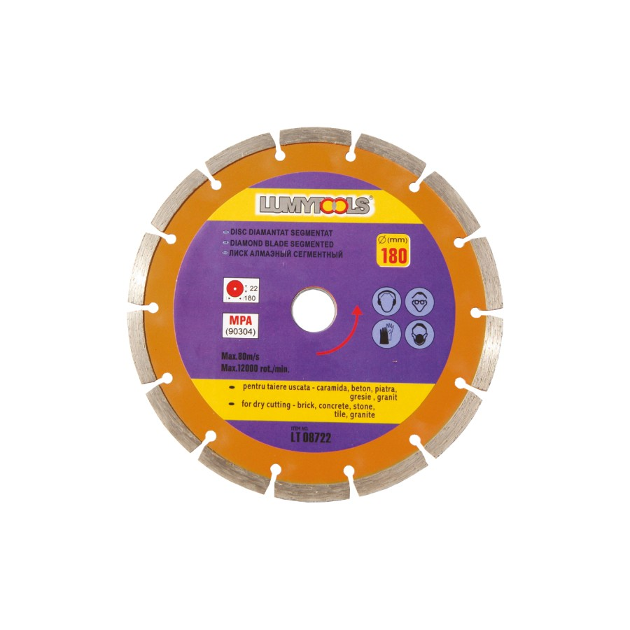 Disc diamantat cu segmente LT08721