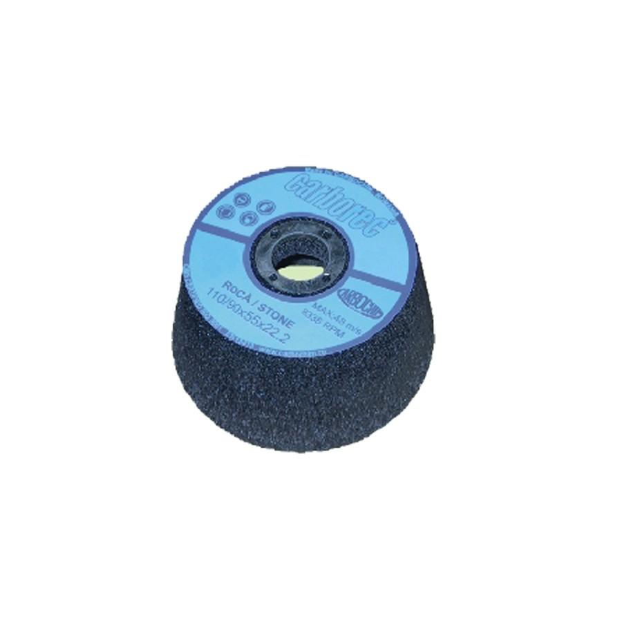 Piatra oala pentru slefuit pardoseli din beton si epoxidice, Carbochim 11BT1, 110 x 55 x 22.2 mm