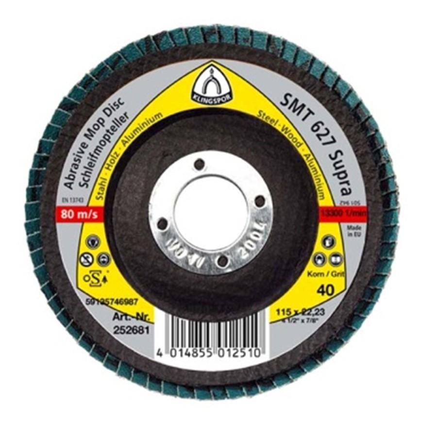 DISC SMT 627 LEMN 180MM P80  116346