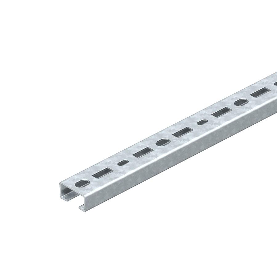 Sina perforata FS 1110002, otel, 30 x 15 x 2000 mm