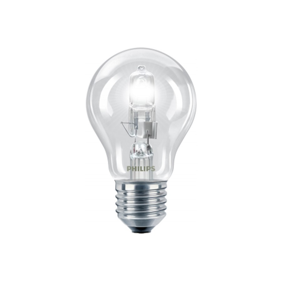 Bec halogen E27 Philips EcoClassic30 standard 230V 42W lumina calda