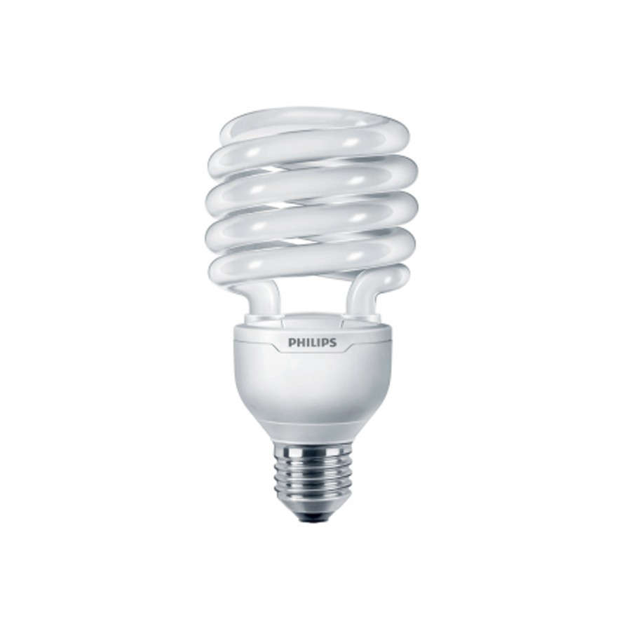 Bec economic E27 Philips Tornado spiralat T3 32W lumina calda