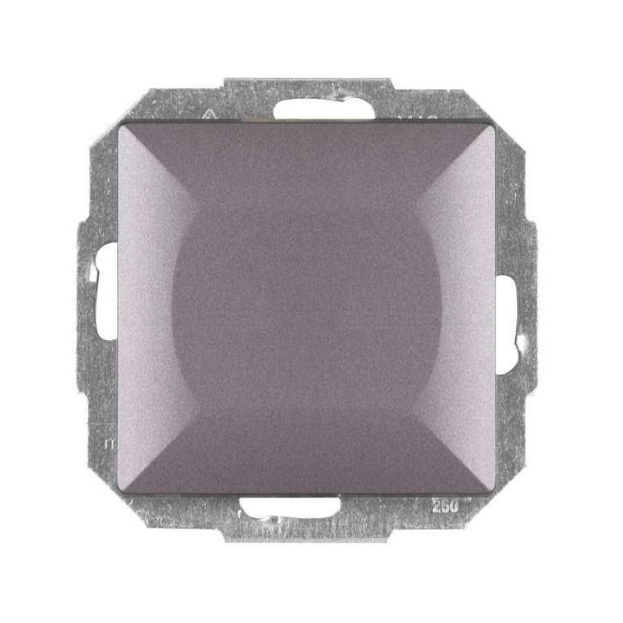 Intrerupator cap scara - cruce simplu Abex Perla WP-8P AN, incastrat, antracit