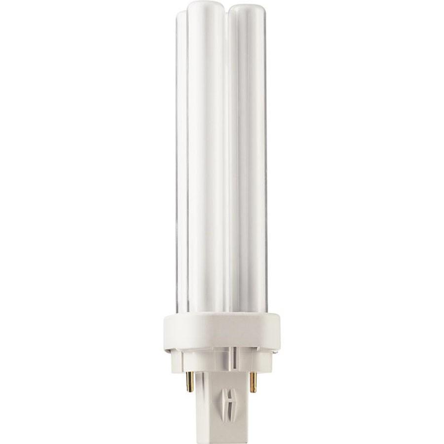 Bec economic G24d-1 Philips Master PL-C 2P 13W lumina neutra