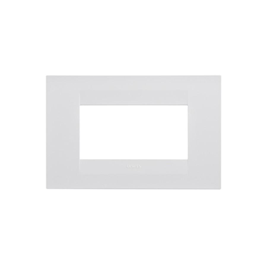 Rama Gewiss Chorus GEO GW16404TB, 4 module, alb
