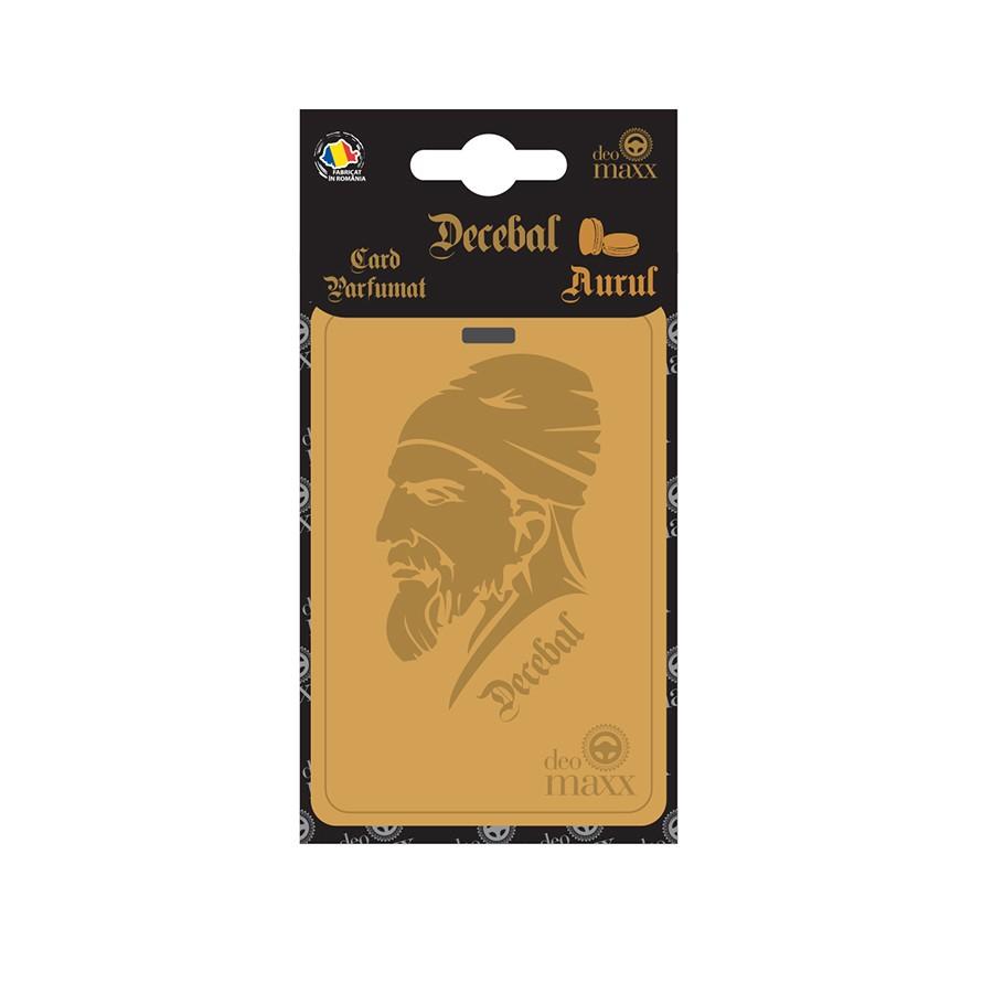 Odorizant card Decebal aurul