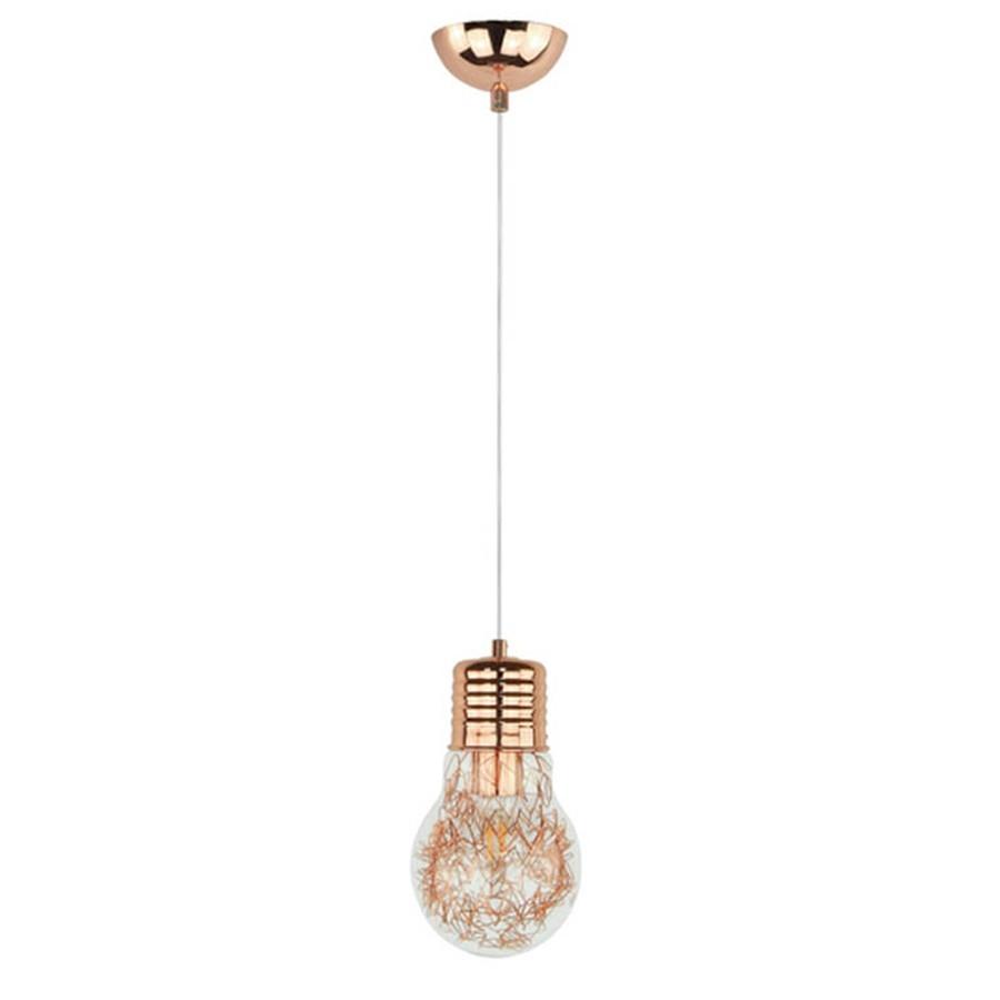 Suspensie Bulb 2810113, 1 x E27, 60W, cupru